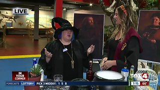 IMAG History & Science Center transforms into Wizard Academy - 7am live report