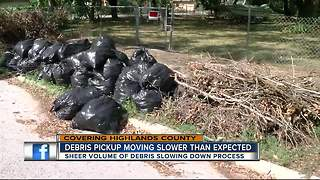Several Highlands County families still waiting for storm debris pickup - Video