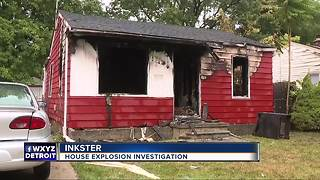 Investigation continues into Inkster home explosion