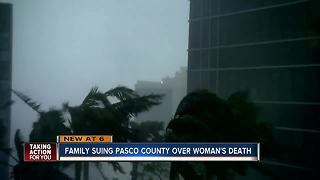 Family suing Pasco County over woman's death - Video