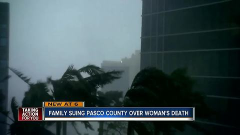 Family suing Pasco County over woman's death