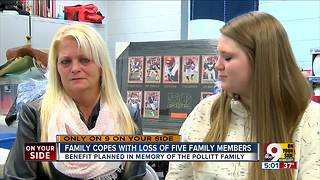 Pollitt family: Mom, sister of man killed alongside fiance, three children thank NKY community