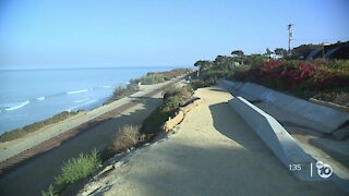 Phase 4 of Del Mar bluffs project includes drainage systems along train tracks