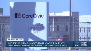 Massive spike in COVID-19 cases in Eloy