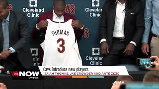 Cavs introduce players acquired in trade - Video