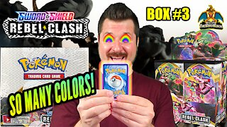 Rebel Clash Booster Case (Box 3) | Pokemon Cards Opening