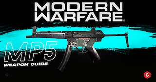 Modern Warfare: MP5 Setup And Best Attachments For Your Class