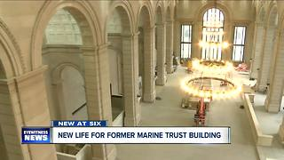 New life for former Marine Trust Building - Video