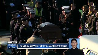 Last Call for Matthew Rittner, Milwaukee's fallen police officer