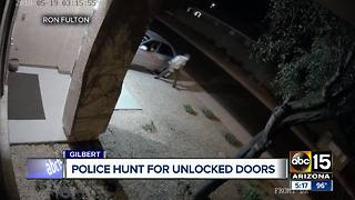 Gilbert police stepping up patrols to curb car break-ins - Video