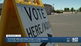 Voter registration issues raising concerns