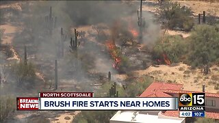 15-acre brush fire in Scottsdale is 100% contained