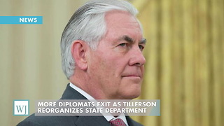 More Diplomats Exit As Tillerson Reorganizes State Department - Video