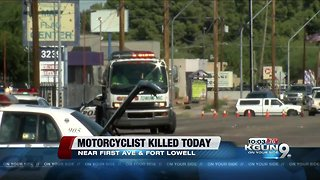 Police: Motorcycle rider ran read light before dying in wreck