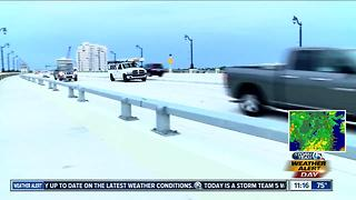 All lanes on Flagler Bridge are now open - Video