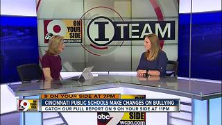 Cincinnati Public Schools make changes on bullying - Video