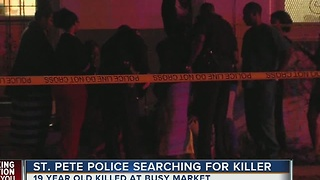 St. Pete police searching for killer - Video