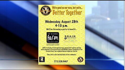 VanDuzer Foundation hosting fundraiser for two non-profits formed by families it helped during time of need