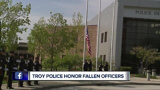 Troy police honor fallen officers