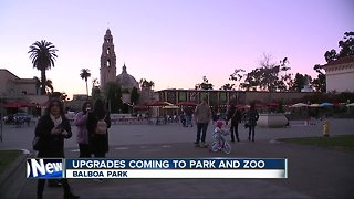 Improvements coming for Balboa Park, San Diego Zoo