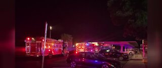 Two people sent to the hospital due to apartment fire