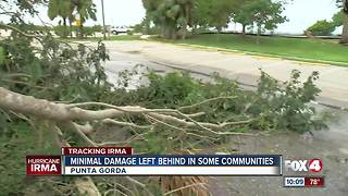 Hurricane Irma leaves Punta Gorda with minimal damage - Video