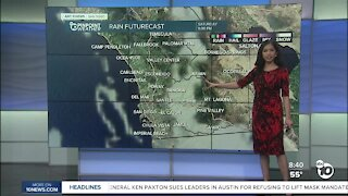 ABC 10News Pinpoint Weather for Sat. March 13, 2021