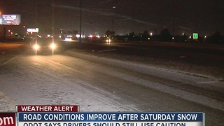 Crews clear snow, sleet from Oklahoma highways - Video