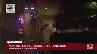 Man killed in Chandler hit-and-run