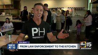 A former Mesa police officer opens new healthy restaurant - Video