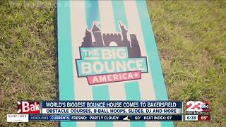 World's Largest Bounce House - Video
