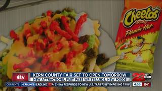 New food and attractions coming to Kern County Fair
