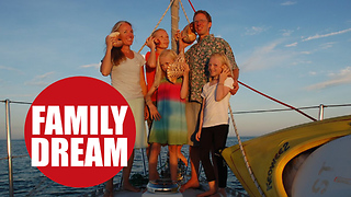 Family of five left their suburban life to sail around the world - Video