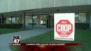 Lansing community walks to end hunger - Video