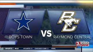 Boys Town vs. Raymond Central 9-1 - Video