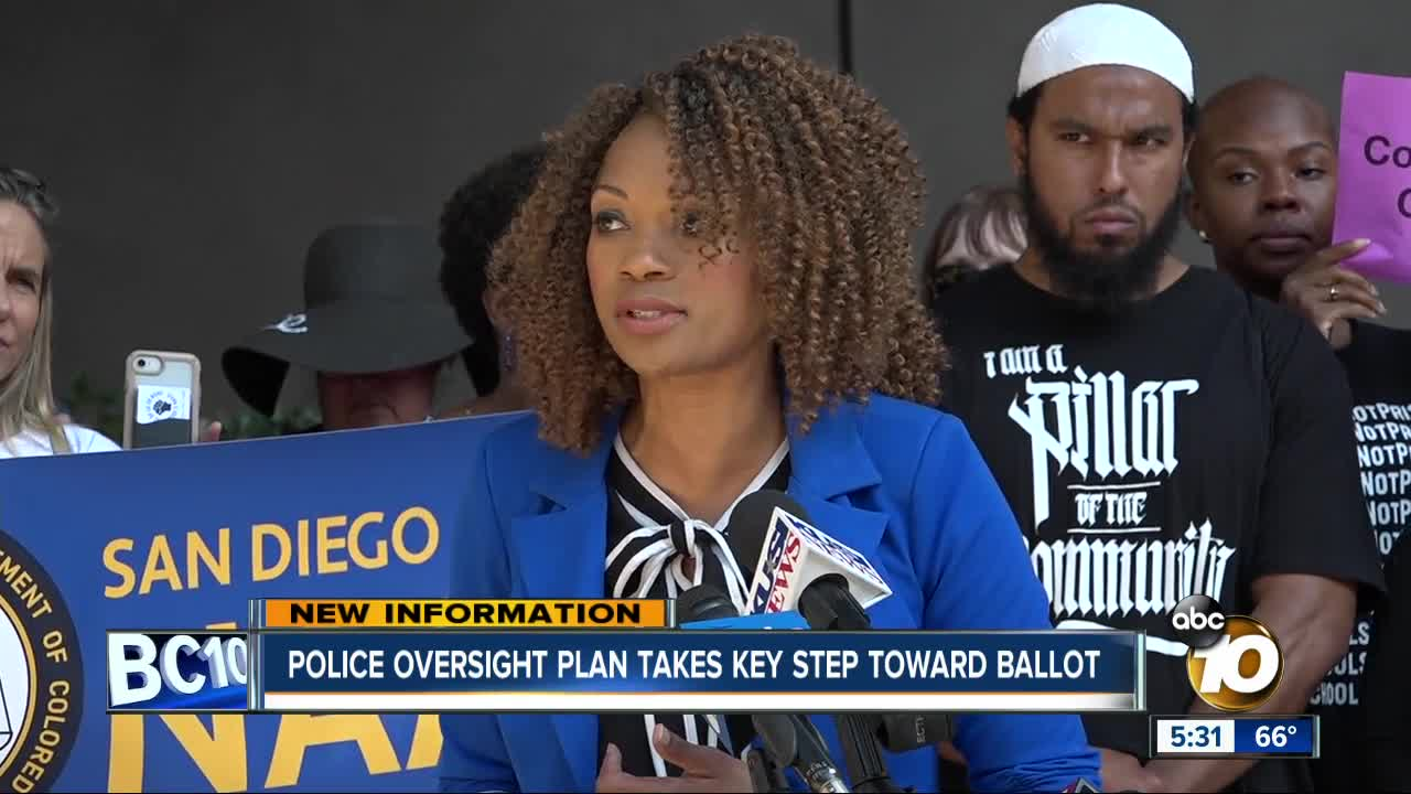 Police oversight proposal takes key step toward ballot