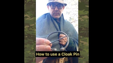 How to use a Cloak Pin