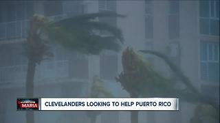 Puerto Ricans rally in Cleveland to support their island left battered by Hurricane Maria - Video