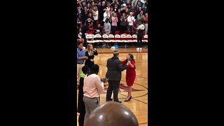 Students Name Autistic Classmate Homecoming King, Go Wild When He Busts Out Dance Moves - Video
