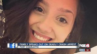 Family speaks out after Port Charlotte deadly crash arrest - Video