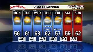 13 First Alert Weather for January 22 2018 - Video