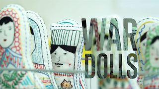 Dolls with a story: made by refugees, for refugees