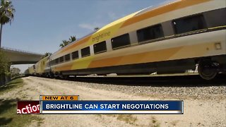 Brightline to start negotiations on rail system - Video