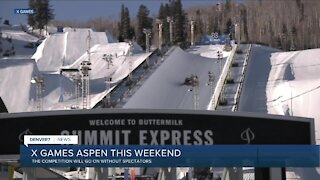 X Games are still on in Aspen this weekend