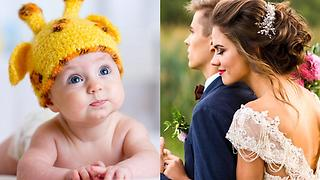 Top 3 New Baby & Wedding Traditions Of 2017 - Video