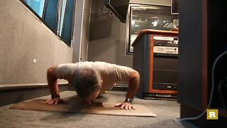 Clark Howard Kicks Off Rare's 22 Push-Up Challenge - Video