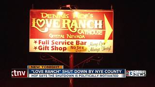 Brothel owner Dennis Hof's says suspension politically motivated - Video