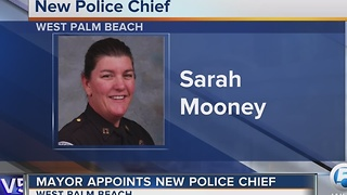 Mayor appoints new police chief - Video
