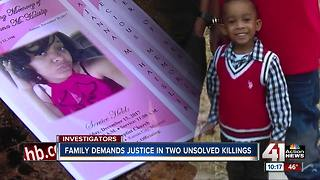 Family demands justice in 2 unsolved killings - Video
