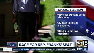 Gov. Ducey expected to set date for special election - Video